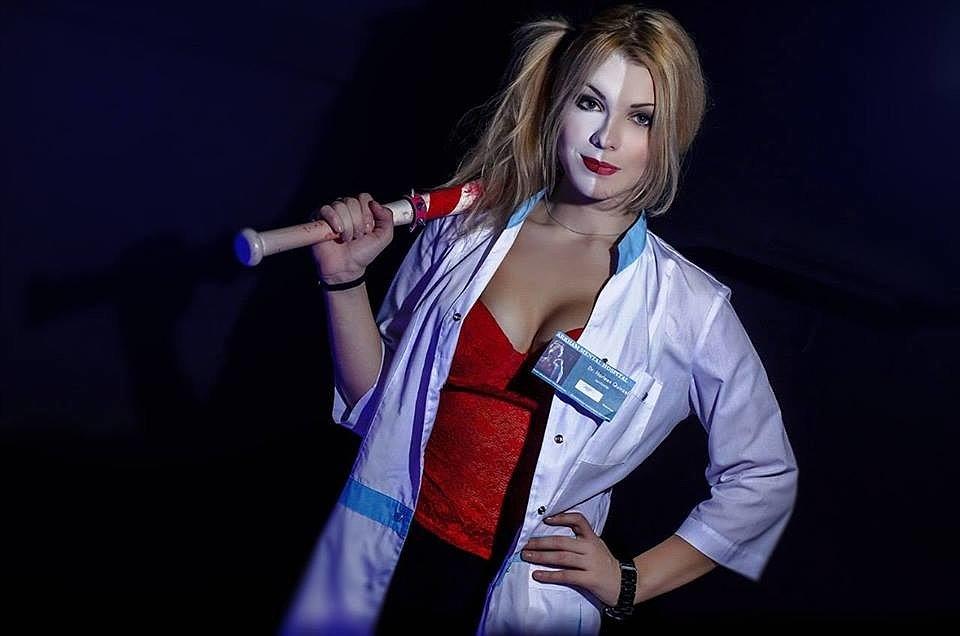 Russian Cosplay: Harley Quinn (DC) by Irina Meier