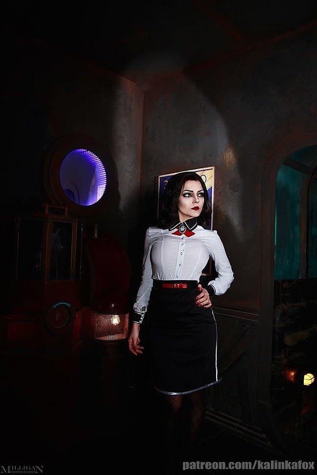 Russian Cosplay: Elizabeth (BioShock)