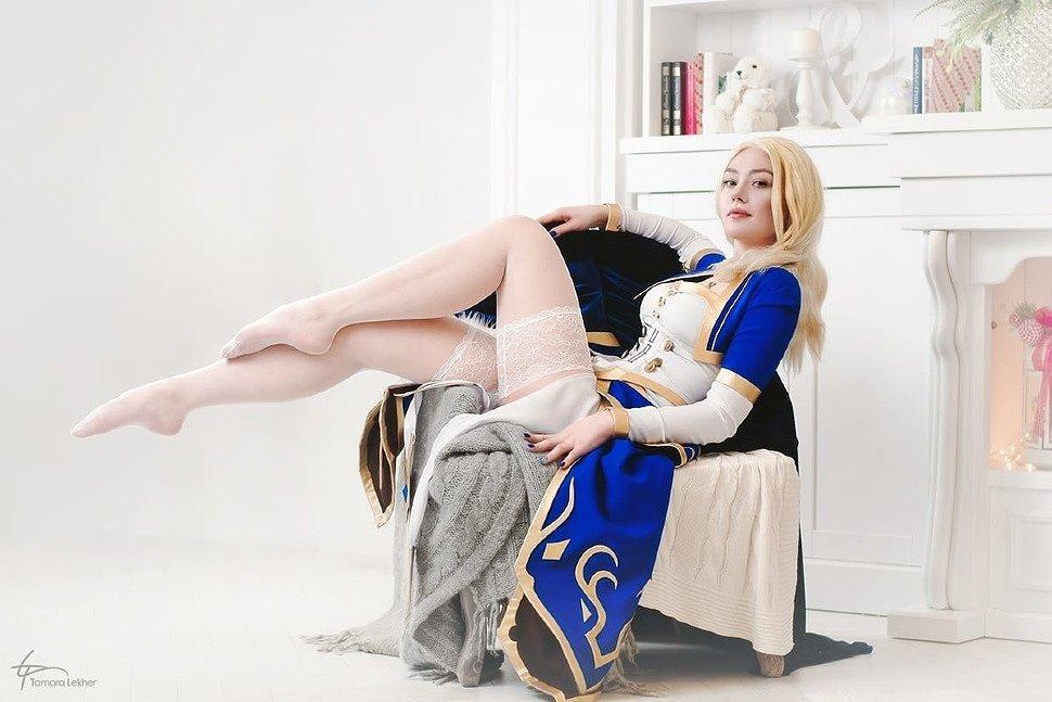 Russian Cosplay: Jaina (World of Warcraft) by Violet Unicorn
