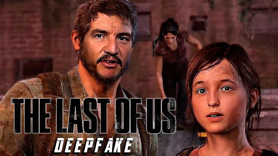 [Fun Video] Педро Паскаль и Белла Рамзи в The Last of Us (DeepFake)
