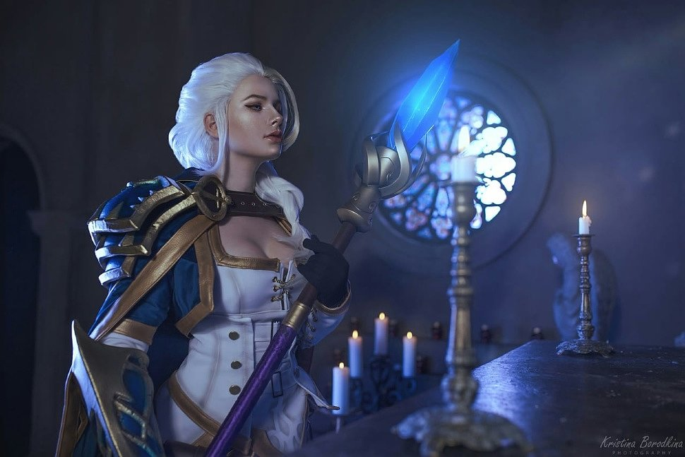 Russian Cosplay: Jaina Proudmoore (World of Warcraft) by Christina