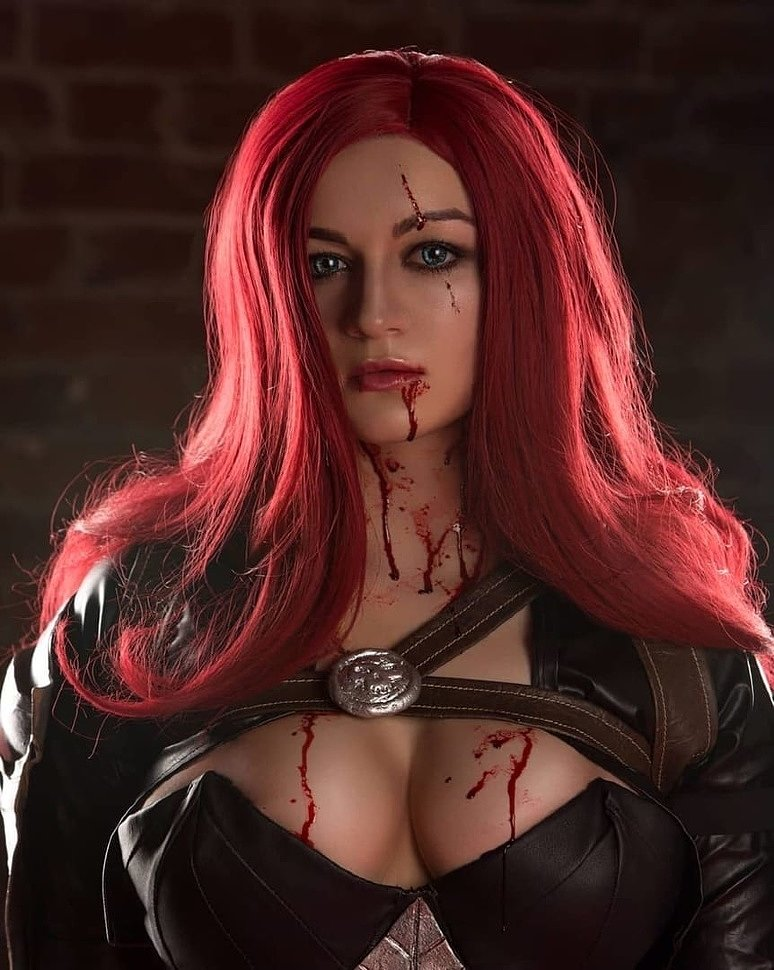 Russian Cosplay: Katarina (League of Legends) by Ponechka (NSFW)
