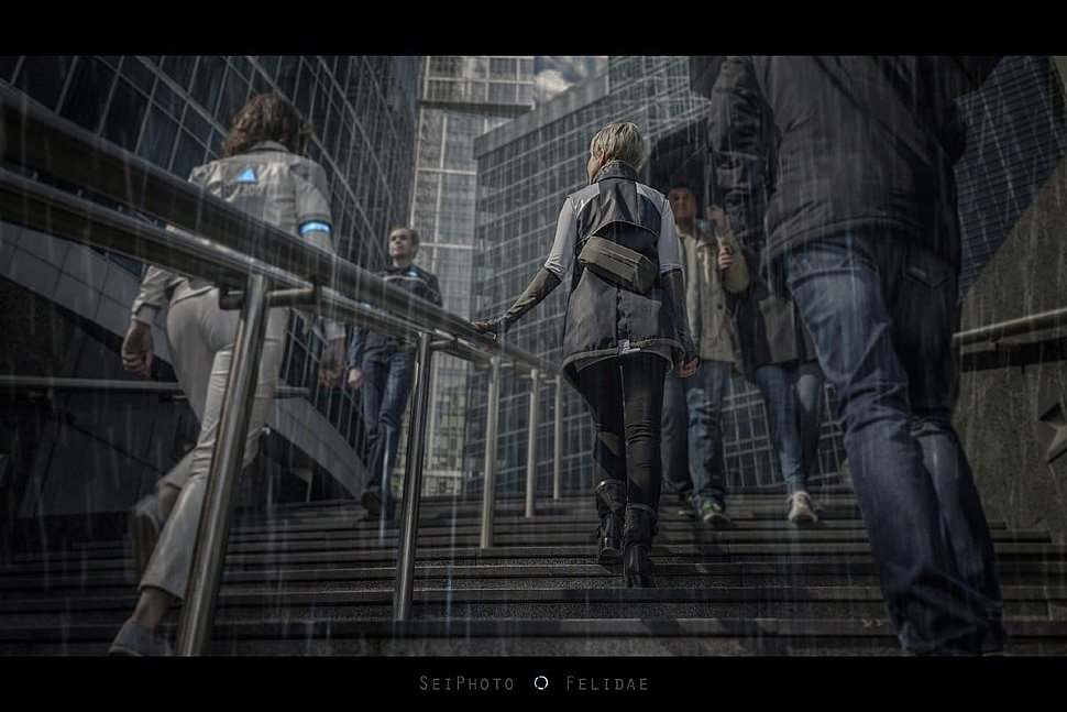 Russian Cosplay: Kara (Detroit: Become Human) by SeiPhoto