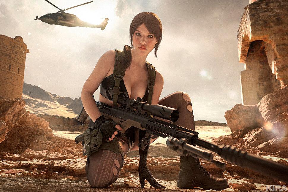 [Cosplay] Quiet (Metal Gear Solid 5) by Lyumos