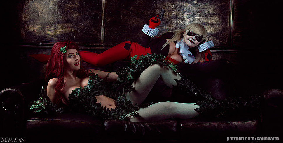 Russian Cosplay: Harley Quinn (DC Comics)