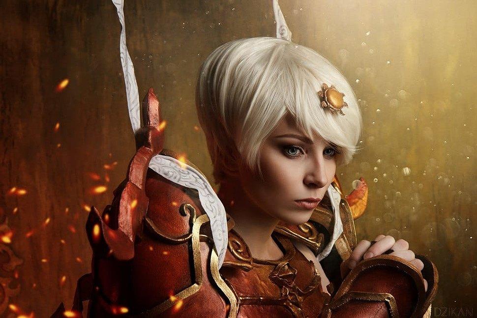 Russian Cosplay: Monk (Diablo 3)