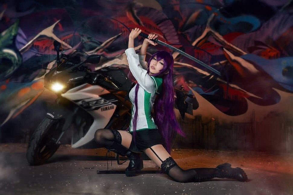 Cosplay: Busujima Saeko (Highschool of the Dead) by Atsushi 淳