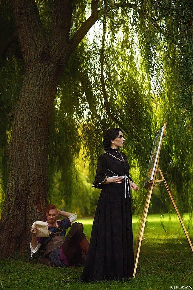 Russian Cosplay: Iris von Everec & Olgierd von Everec (The Witcher 3) by Suiginto & Kondaurov