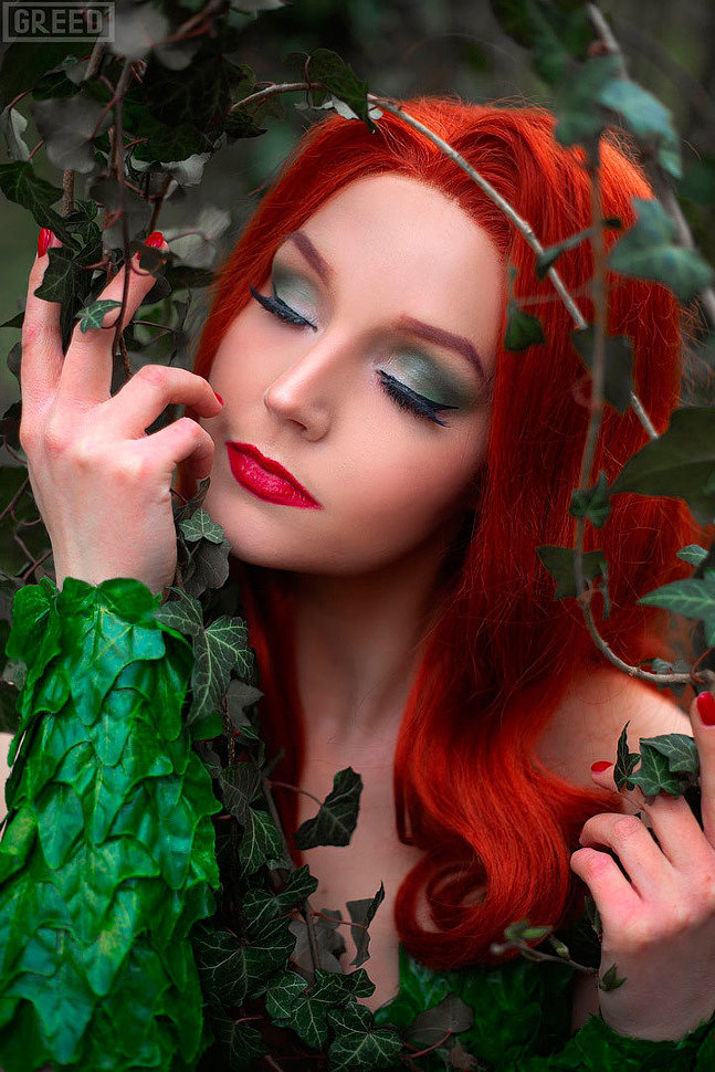 Cosplay: Poison Ivy (DC Comics)