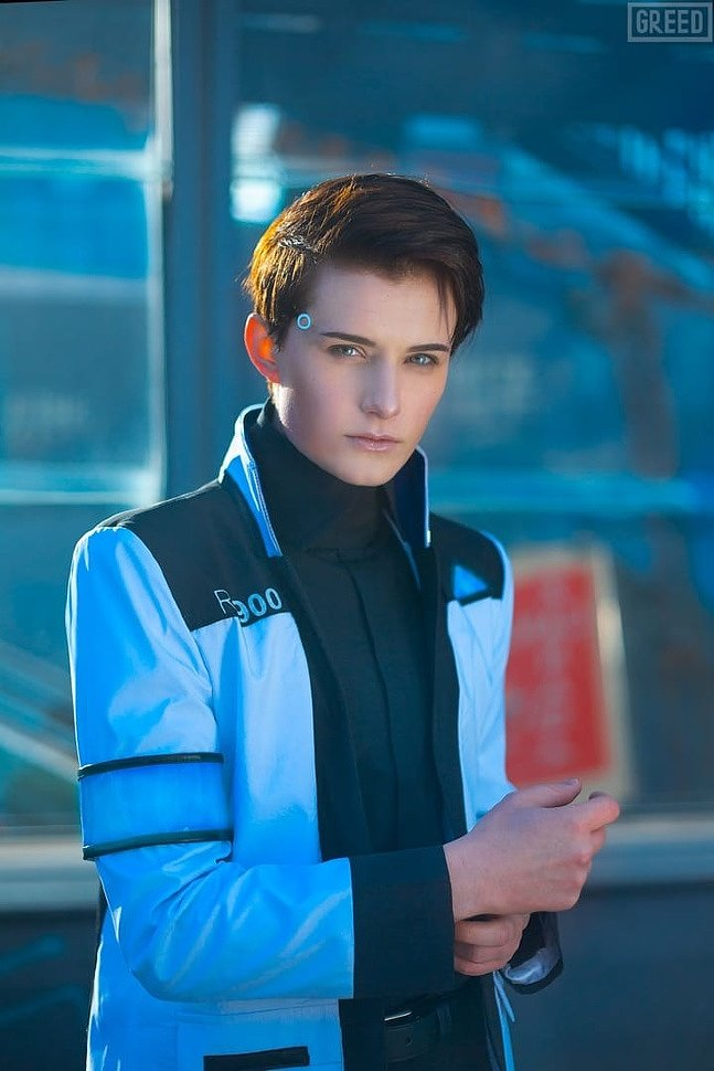 Russian Cosplay: Conor (Detroit Become Human) by liancosplay