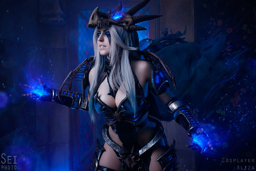 Russian Cosplay: Sindragosa (World of Warcraft)
