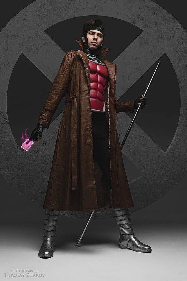 Russian Cosplay: Rogue & Gambit (X-men) by Daria Kulikova & Egor Markov