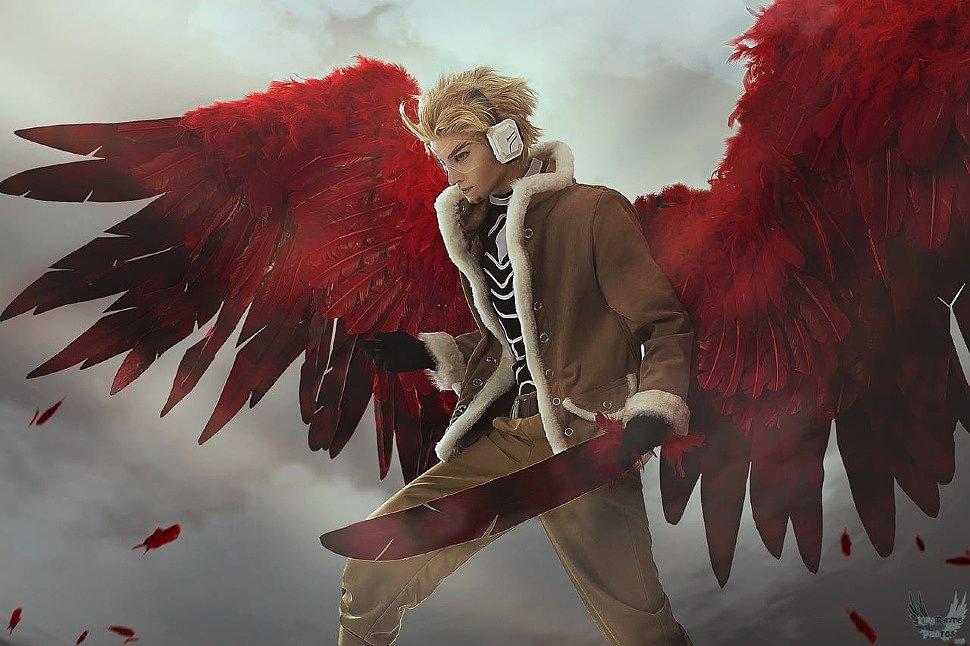 Russian Cosplay: Hawks (My Hero Academia)