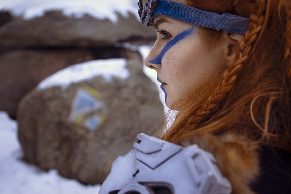 Russian Cosplay: Aloy (Horizon Zero Dawn) by Keyvei