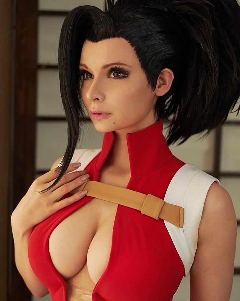Russian Cosplay: Momo (My Hero Academia) by Jannet Incosplay