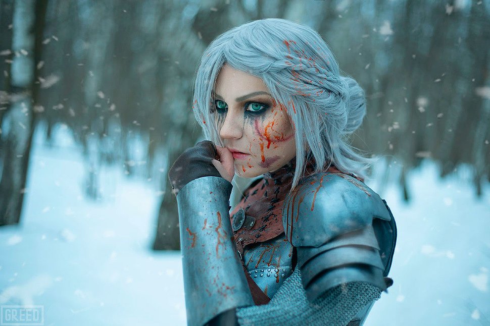 Russian Cosplay: Cirilla (The Witcher)