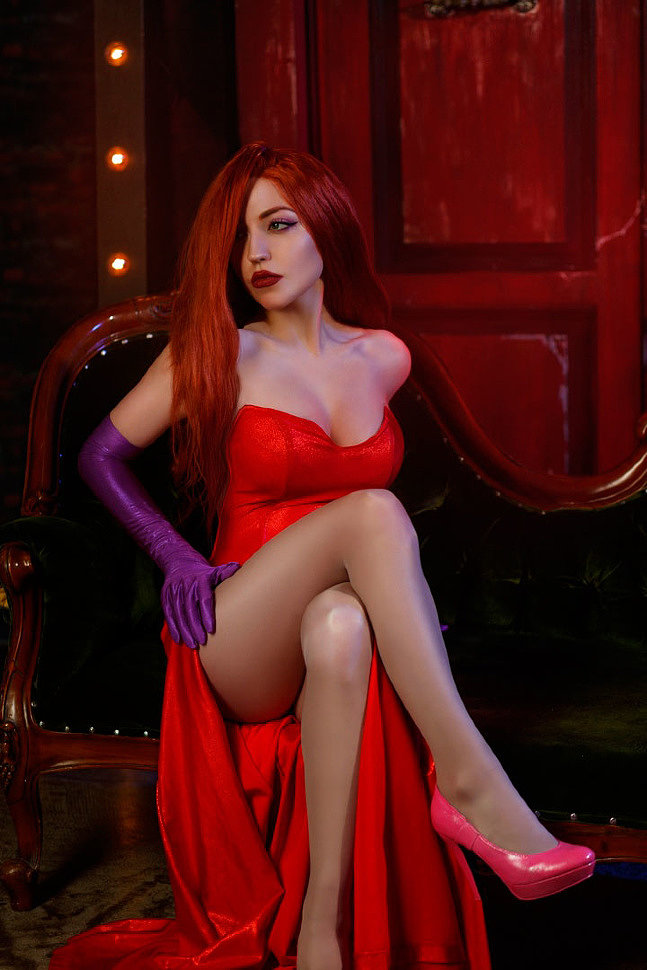 Russian Cosplay: Jessica Rabbit, Holli Would (Who Framed Roger Rabbit)