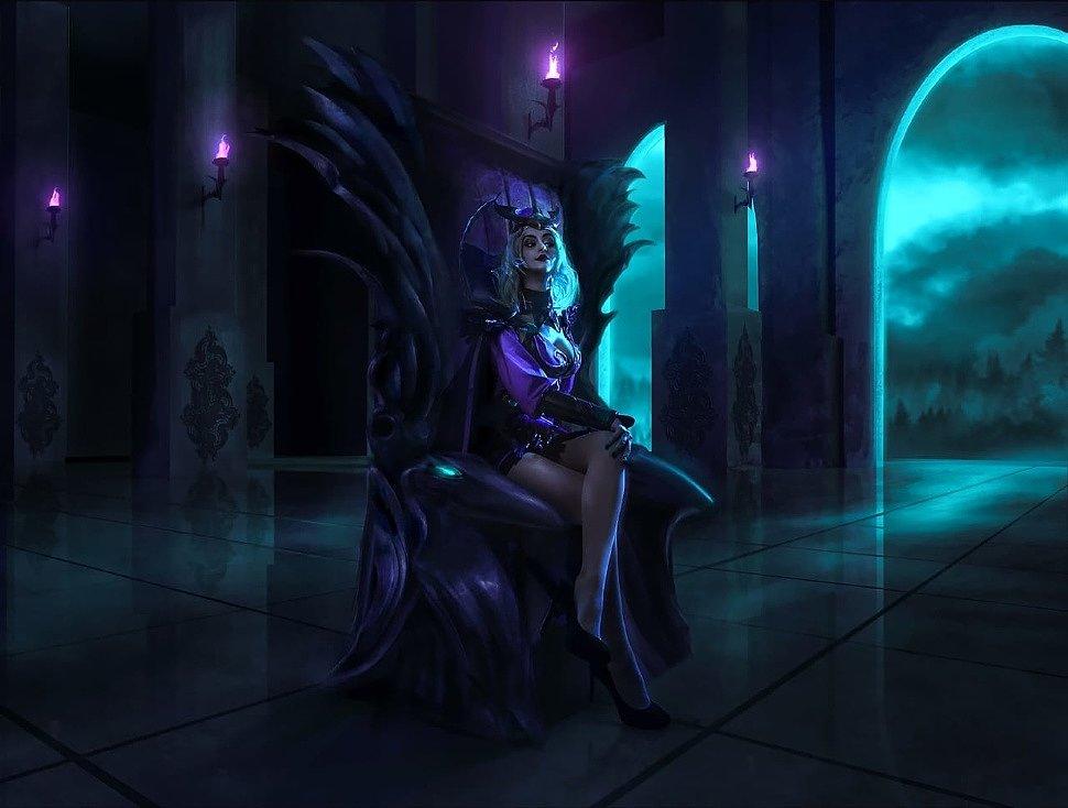 Russian Cosplay: Ravenborn LeBlanc (League of Legends)