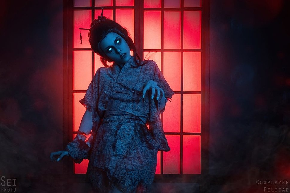 Russian Cosplay: Rin Yamaoka (Dead by Daylight)
