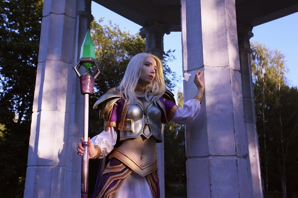Russian Cosplay: Jaina Proudmoore (World of Warcraft)