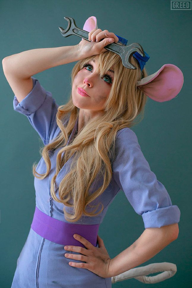 Cosplay: Gadget (Chip and Dale) by Liechee