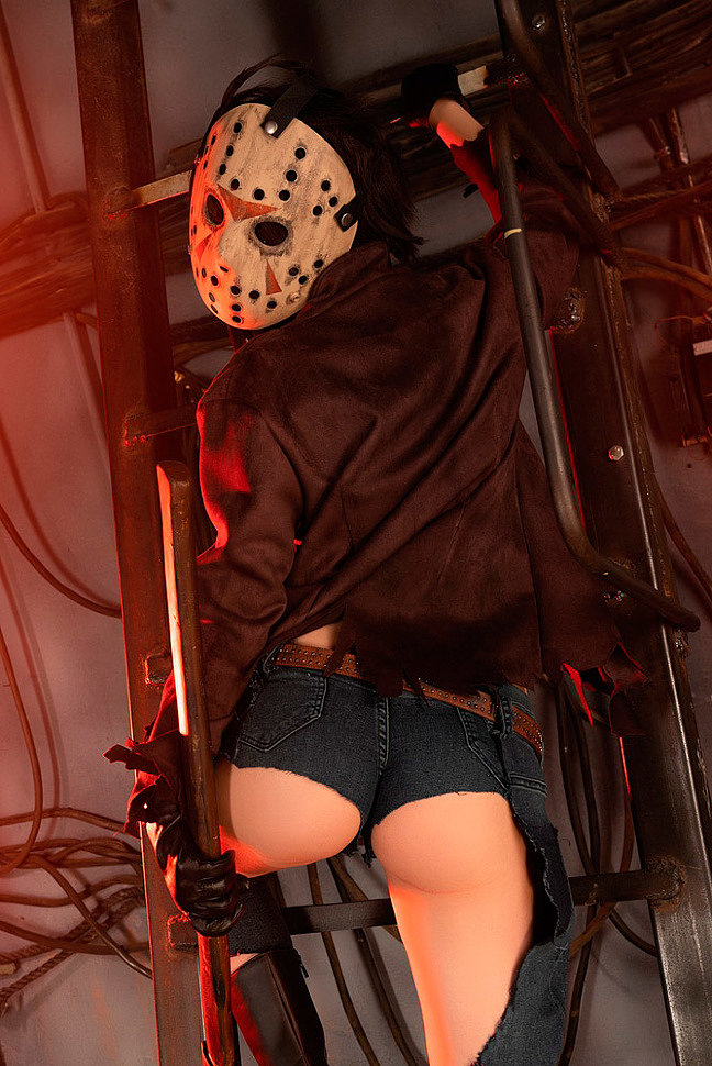 Russian Cosplay: Jason (Friday the 13th) by Helly von Valentine