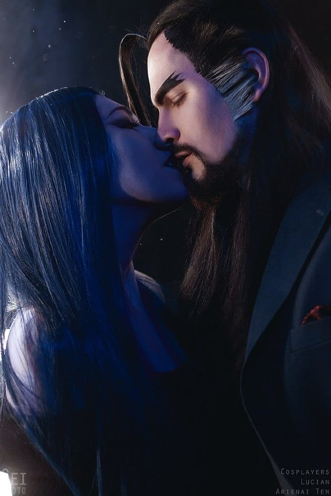 Russian Cosplay: Hanzo & Widowmaker (Overwatch: Mr. & Mrs. Sniper)