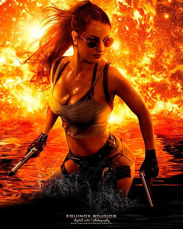 Cosplay: Lara Croft (Tomb Raider) by msfitjade