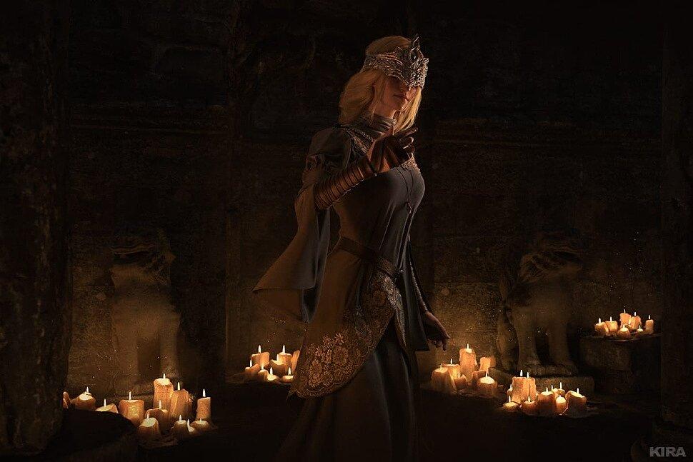 Russian Cosplay: Fire Keeper (Dark Souls) by Claire Sea | G4SKY.net