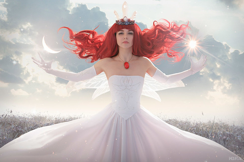 Russian Cosplay: Aurora (Child of Light)