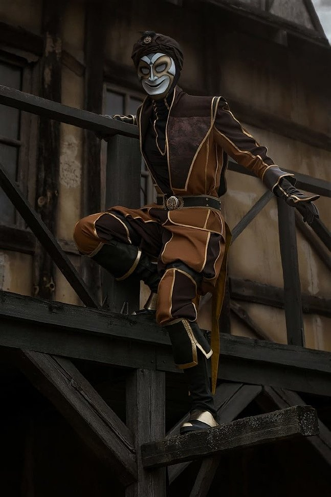 Russian Cosplay: Ottoman Jester (Assassin's Creed Revelations) by Hitman