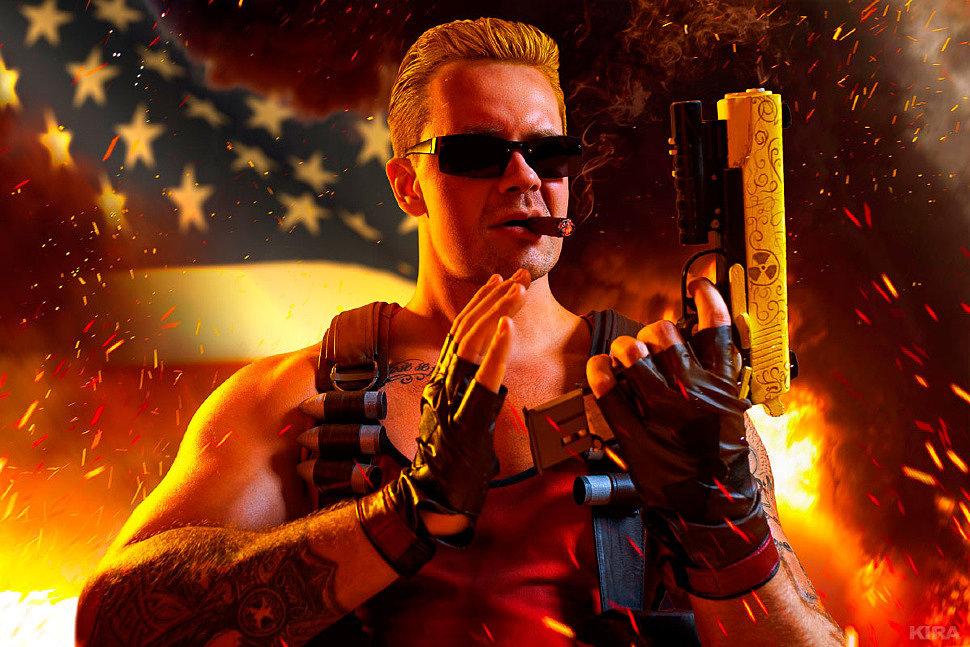Russian Cosplay: Duke Nukem