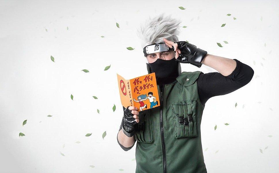 Russian Cosplay: Hatake Kakashi (Naruto)