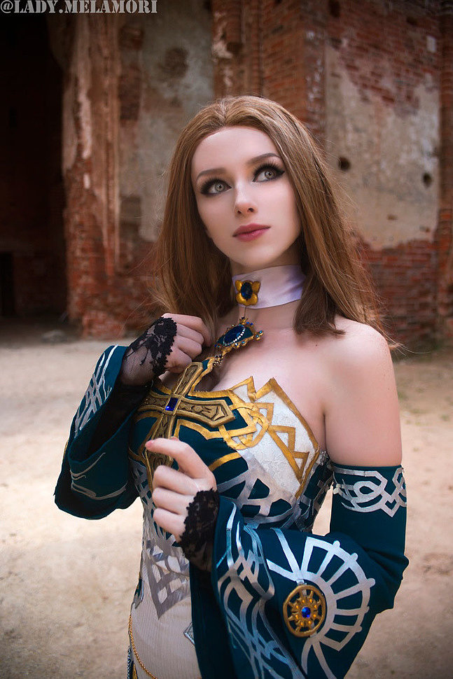 Russian Cosplay: Dark Crystal robe (Lineage 2)