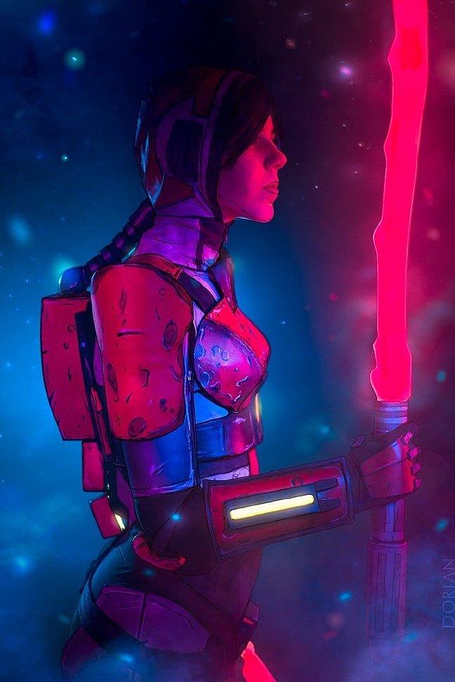 Russian Cosplay: Crimson Lance Assassin (Borderlands)