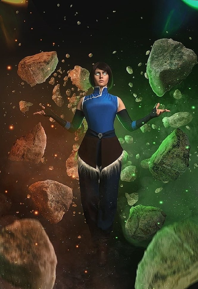 Russian Cosplay: Korra (Avatar: Legend of Korra) by Irene Nova
