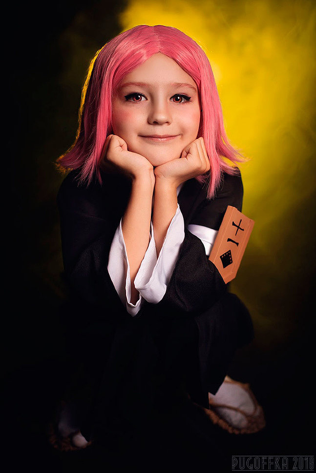 Russian Cosplay: Kenpachi Zaraki and Yachiru (Bleach)