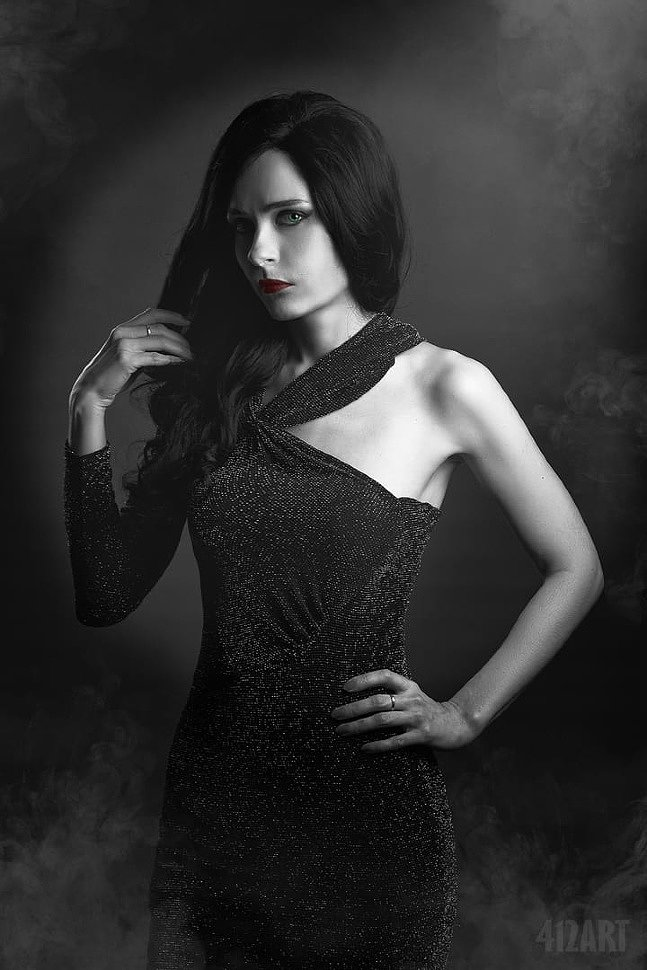 Russian Cosplay: Ava Lord (Sin City)