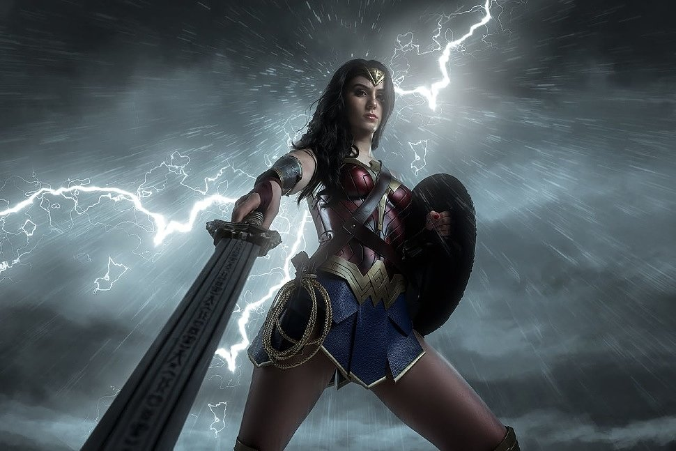 Russian Cosplay: Wonder Woman (DC Comics)