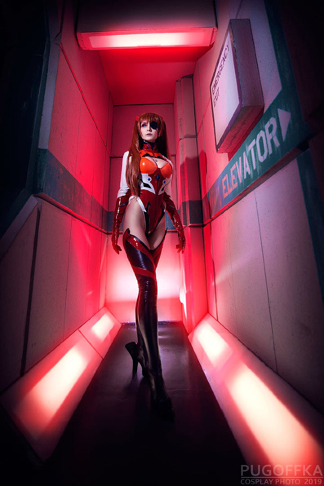 Russian Cosplay: Asuka Langley (Evangelion)