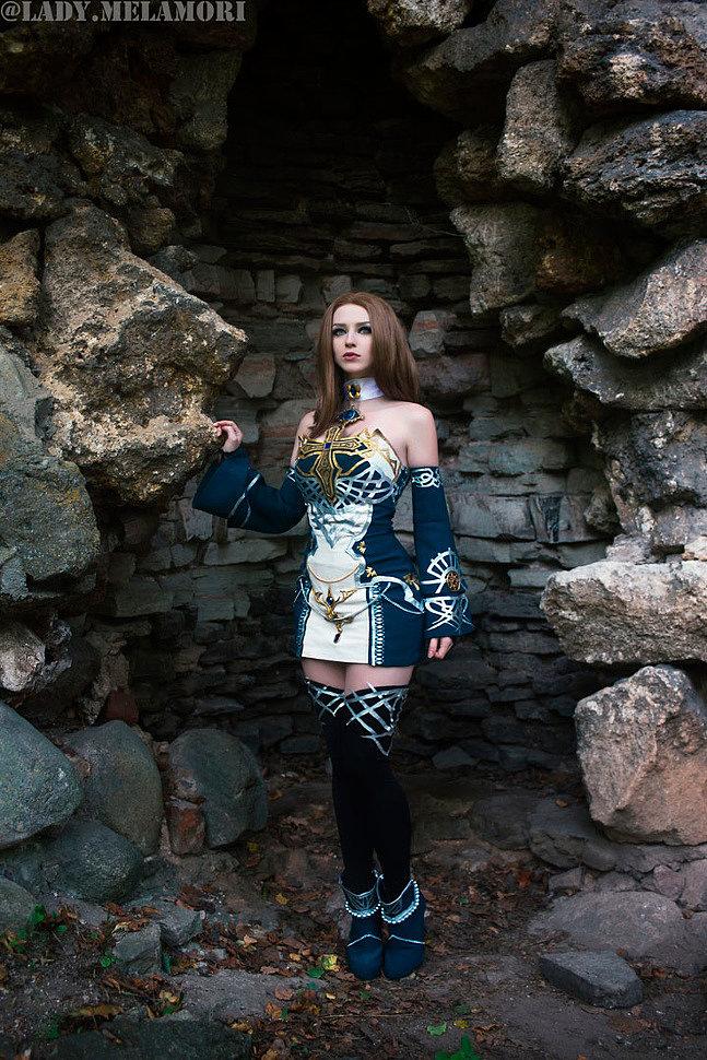 Russian Cosplay: Dark Crystal robe (Lineage 2)