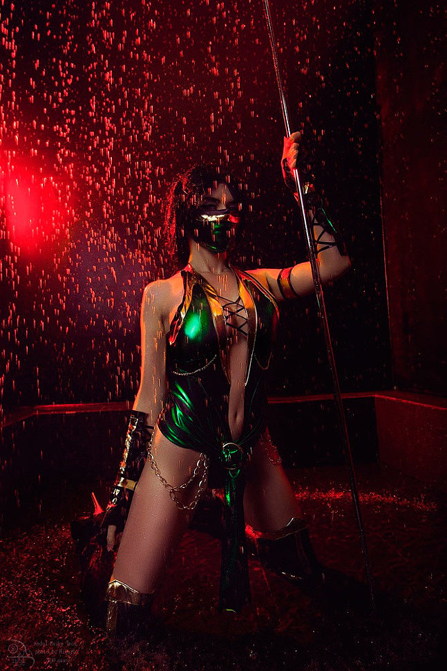Russian Cosplay: Jade (Mortal Kombat) by Meiko Inoe