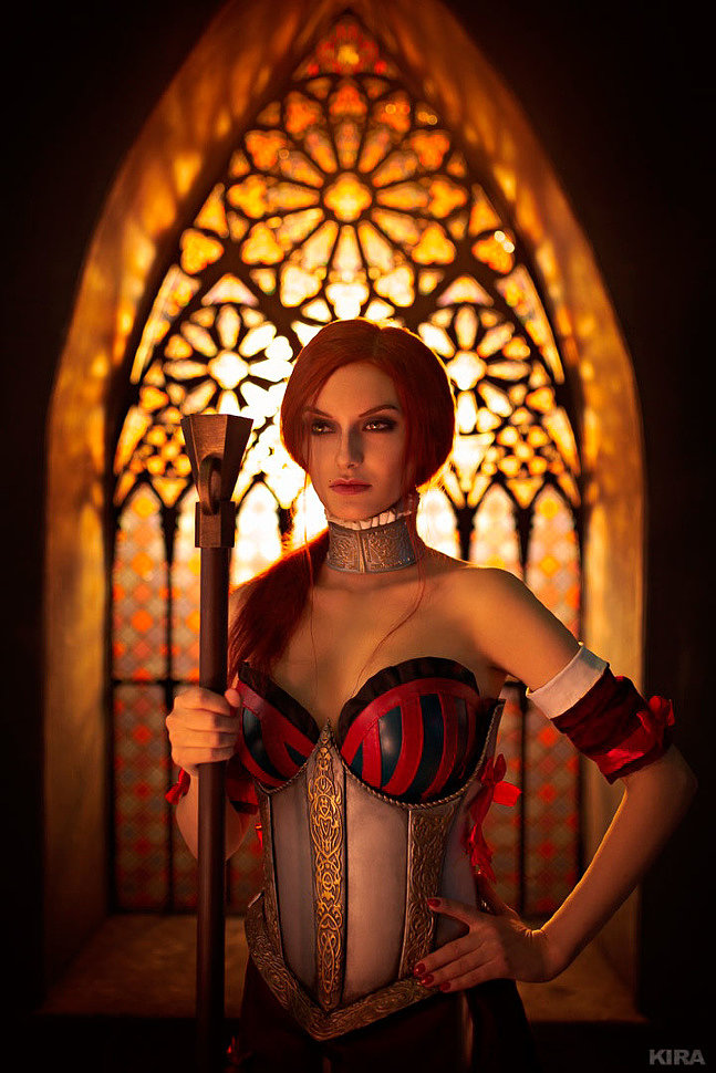 Russian Cosplay: Sabrina Glevissig (The Witcher 2: Assassins of Kings.The Blood Curse)