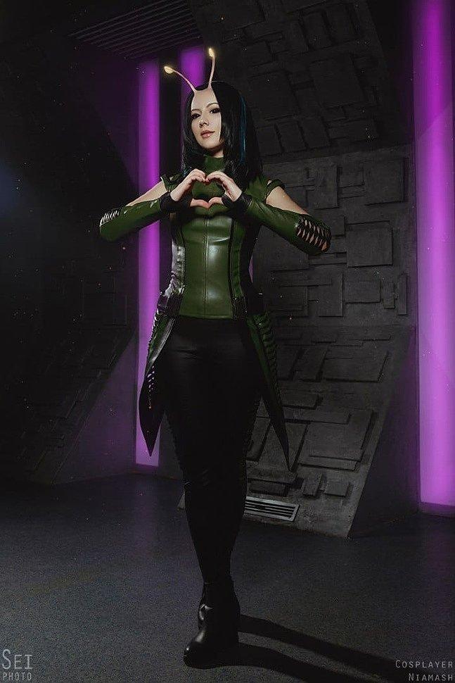 Russian Cosplay: Mantis (Guardians of the Galaxy 2)