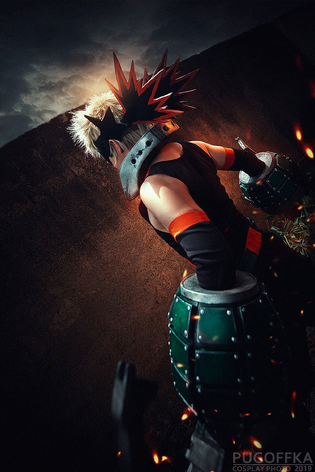 Cosplay: Bakugo (My Hero Academia) by Anthony Zu Art