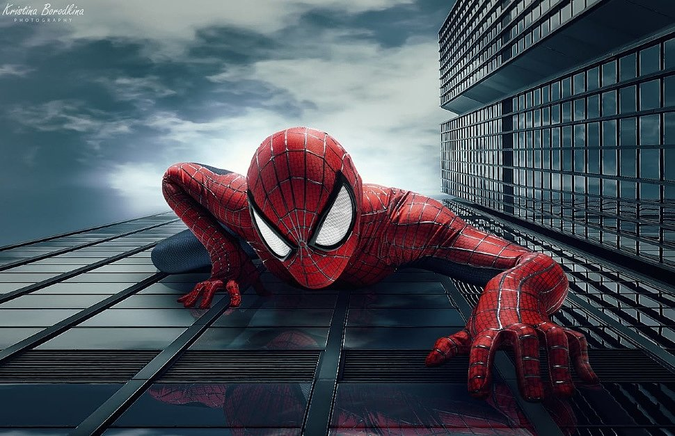 Russian Cosplay: Spider-man (The Amazing Spider-man 2)
