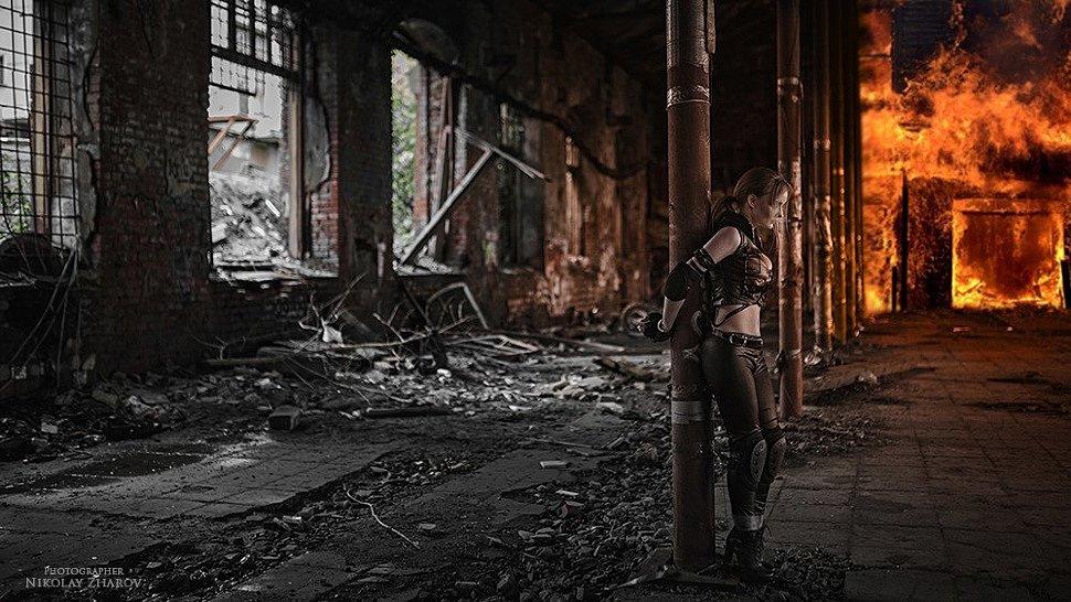 Russian Cosplay: Sonya Blade (Mortal Kombat) by katssby
