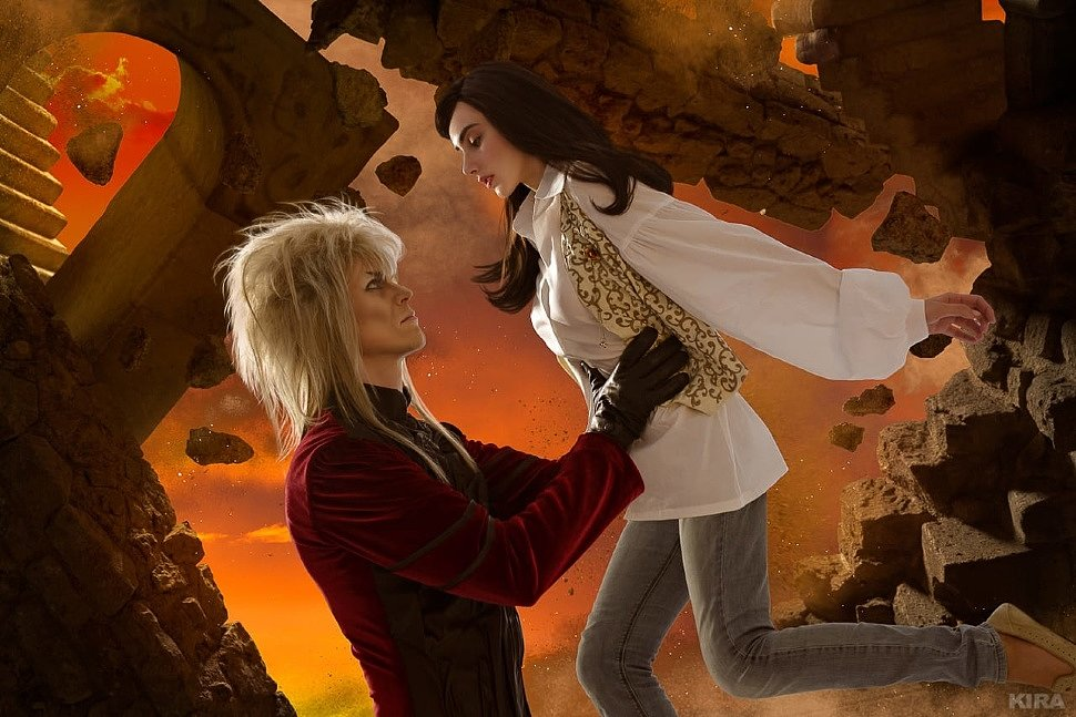 Russian Cosplay: Sarah Williams & Jareth the Goblin King (Labyrinth)