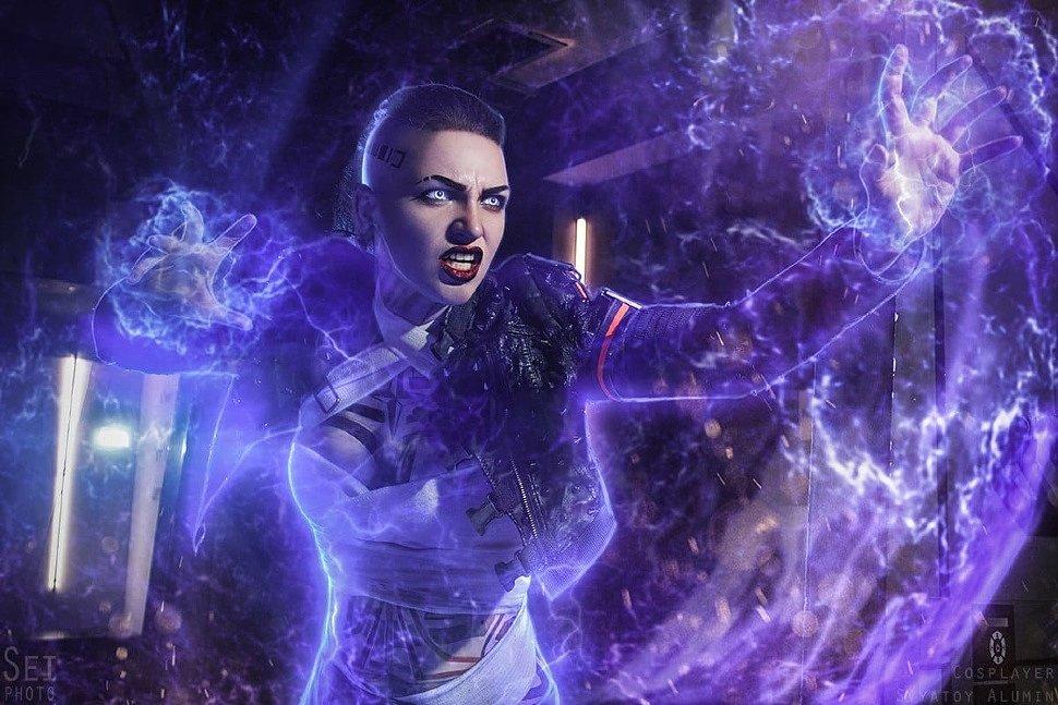 Russian Cosplay: Jack (Mass Effect 3)