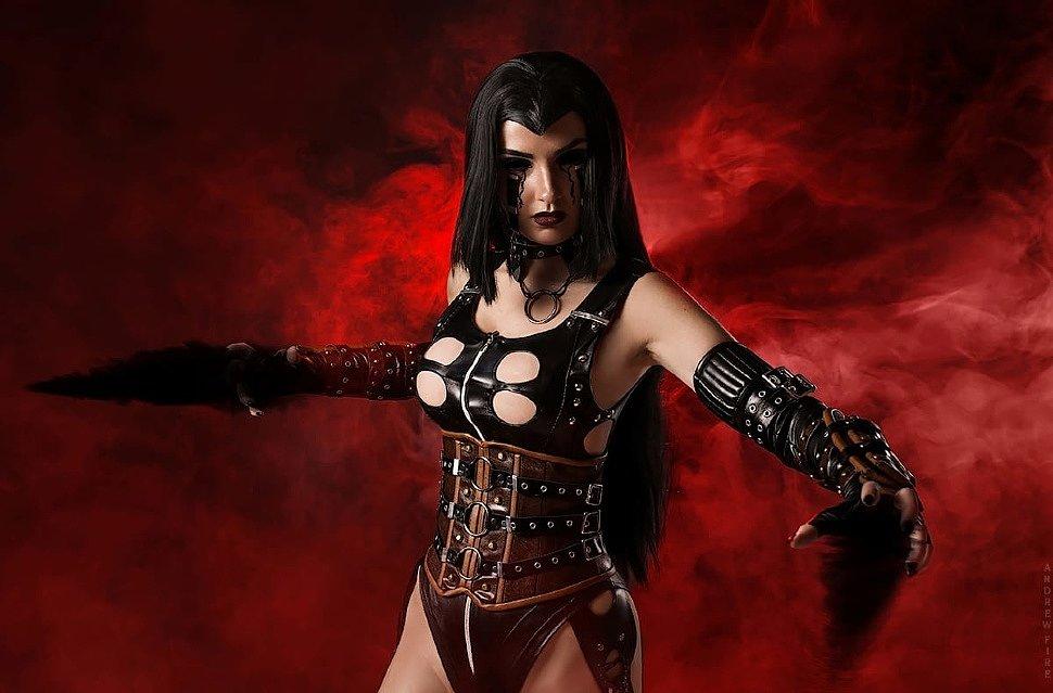 Russian Cosplay: Ephemera (BloodRayne 2) 18+